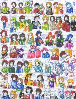 Felt pen doodles 44 by General-RADIX