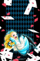 Alice is falling by PikAe