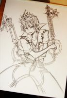 WIP: Roxas Commission by ghost