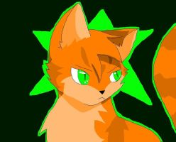 Portrait of FireStar by annathewerewolf