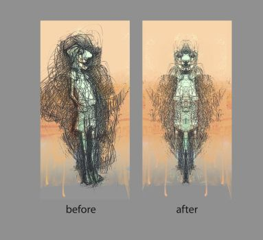 after before by uzra2019