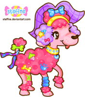 Deco-Poodle by steffne