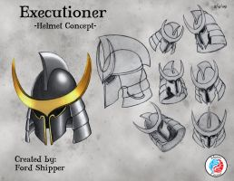 Executioner's Helmet by Mystic-Forces