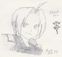 Edward Elric by InuKid