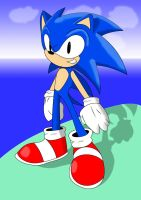 sonic the fastest thing alive by fumineitor