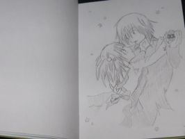 amu and ikuto face up by ShugoCharaJunkie