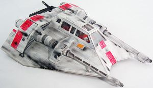 Rebel Snowspeeder Scale Model by firebladecomics