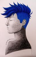 Blue Hair by Becky0109