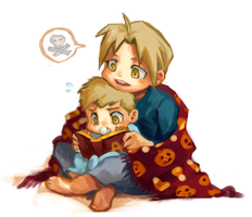 FMA: Ed and Al by student-yuuto