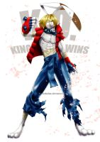 King Kazma by Tree-ink