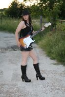 Guitar and Boots Stock - 5 by SafariSyd