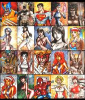 Sketch Cards 5 by ChrisMcJunkin