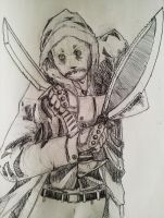Rogue Scarecrow, Armed by The-Rogue-Scarecrow