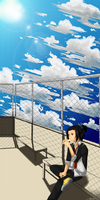 MM: Ku's Summer Sky by HanaPon