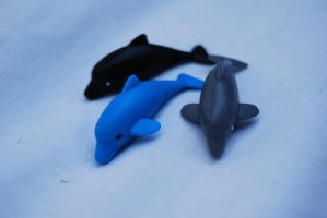 dolphin toy stock by DestroyingAngels