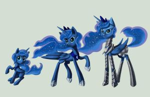 Commission: Princess Luna by envidia14