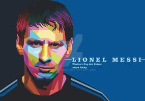 Wpap Messi by IndraRisky