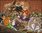 2010 ElfQuest Fan Calendar by Eregyrn