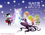 Chinese New Year 2014 by Angilram