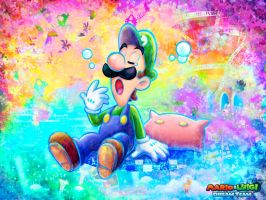 Mario and Luigi Dream Team custom wallpaper by Lulikat15