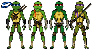 Teenage Mutant Ninja Turtles by UndefinedScott