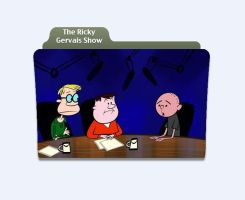 The Ricky Gervais Show - Icon by chrisnoakes