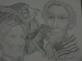 Civil War Montage by JayPaws