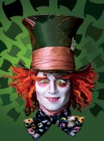The Mad Hatter Vexel by dancinmegs