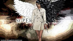Supernatural... The angel. by LarrinJarriSheppiik
