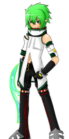 Elsword OC- Ciel, 1st Job (III)-Unearthly Defender by PMSA