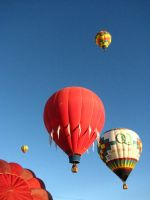 Hot Air Balloons I by FoxStox
