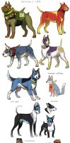 TnB dogs 3 by emlan