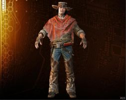 Silas Greaves [Call of Juarez - Gunslinger] by Goreface13