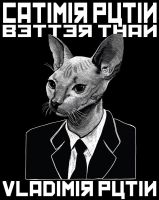 Catimir Putin by Collmonster