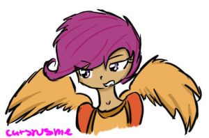 Scootaloo by catsrusme