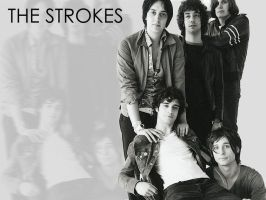 The Strokes : Grey by Efetra
