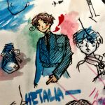 italia watercolour by Muisha