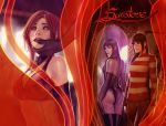sunstone book 3 full wraparound cover by shiniez
