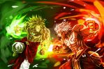 Asura VS Broly - Clash of Gods by Primal-Lord
