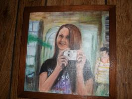 self photograph by paintingmama
