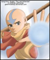 Aang by MissKingdomVII
