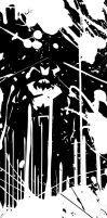Batman Black and White by 2D-Assassin