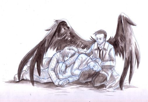 Supernatural - I'm watching you, my friends by Resosphere