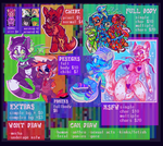 COMMISION SHEET OPEN by PONYPUKE