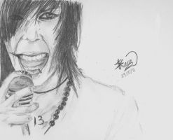 Andy Biersack by afsimart