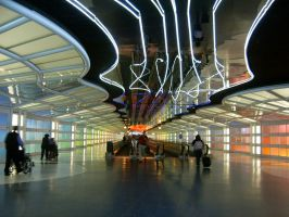 Chicago O'Hare Airport by bandoodie