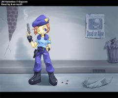 Jill Valentine - Wanted by aun61