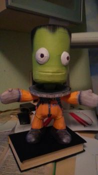 Kerbal Papermodel WIP by arc5555