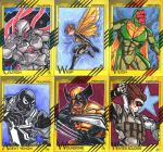 fleer retro2015 Anthony Gay character cards 2 by Grymjack