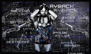 Ryback Signature by SoulRiderGFX
